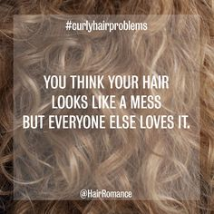 Hair Romance - curly hair problems