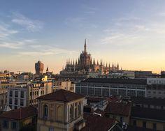 Anyway Milan is always Milan  #saturday #milano #duomo #view #sunset #boscolo #milanodavedere #igersmilano by francesco_puc
