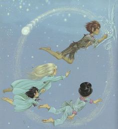 Peter Pan - Janet and Anne Grahame Johnstone