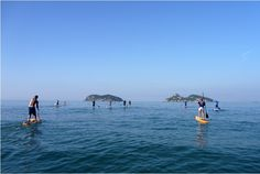 Stand Up Paddle Arpoador: SUP Passeios / SUP tours, Ilhas Tijucas, the islands off the coast of Rio