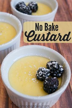 This post brought to you by DairyPure Milk. The content and opinions expressed below are that of A Mom's Take. Have you ever had custard? If not, there is no reason to wait any longer to try it! You'll find it has nearly the texture and taste of pudding while instead delivering something that feels gourmet. Like this No Bake Vanilla Custard recipe. It's so easy to whip together and tastes amazing! No Bake Vanilla Custard Prep Time: 10 minutes              Total Time: ...