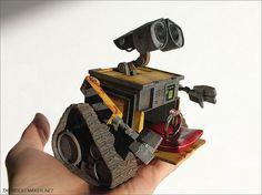 Wall-E caixinha perfeita para revelar um anel