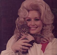 Dolly Parton, has a hair license and has kept it current- Love Dolly!