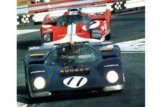 24 heures du Mans 1971 - Ferrari 512M #11 - Pilotes : Mark Donohue / David Hobbs - Abandon Le Mans, Slot, David Hobbs, Ferrari, Race Cars, Abs, Racing, Cars, The Hours