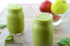 Green Apple Smoothie  by girlmakesfood: Perfect fall smoothie!! Like a healthy, drinkable apple pie!! #Smoothie #Apple #Healthy
