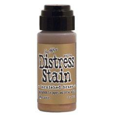 Ranger - Tim Holtz - Distress Stains - Metallic - Tarnished Brass