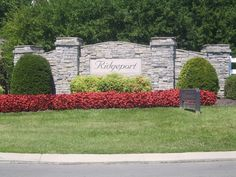 Nashville Subdivision Entrance Landscaping photos and comments. Driveway Entrance, Entrance Sign, Entrance Ways, Driveway Landscaping, Landscaping Plants, Nashville, Colonial, Monument Signs, Stone Driveway