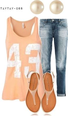 Like if you'd wear this teen outfit!