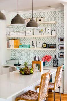 Decorative & Organized Shelves