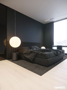 Black Bedroom Design, Room Design Bedroom, Home Room Design, Home Bedroom, Home Interior Design, Bedroom Decor, Modern Luxury Bedroom, Luxury Bedroom Design, Luxurious Bedrooms