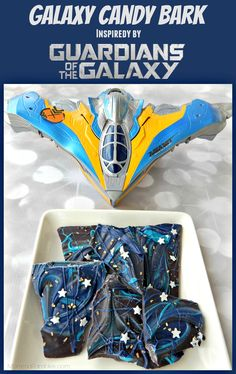 Galaxy Candy Bark: Inspired by GUARDIANS OF THE GALAXY ~ #GotGVol2