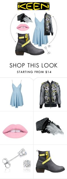 """""""So Fresh and So Keen: Contest Entry"""" by swimfreak-taylor ❤ liked on Polyvore featuring Topshop, Erdem, Gorgeous Cosmetics, Amanda Rose Collection, Keen Footwear and keen"""
