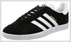 adidas Unisex-Erwachsene Gazelle Sneakers -Schwarz (Cblack/White/Goldmt) -EU 43 1/3 (9 UK) - Sneakers für frauen (*Partner-Link)