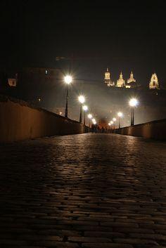 The ancient Puente Romano, Salamanca, Spain