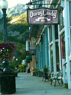 ~Downtown Ouray is So Quaint & Unique~