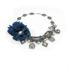 Bead Landing™ C'est la Vie- Royal Flower Necklace