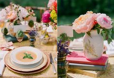 Provence Luncheon Stacey Hedman Photography for Bliss Celebrations Styling: Claudia Seyffert for Bliss Celebrations blisscelebrationsguide.com