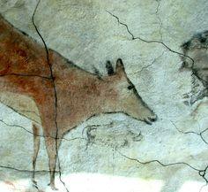 Cave of Altamira and Paleolithic Cave Art of Northern Spain (Santillana del Mar - Spain) Paleolithic Art, Stone Age Art, Art Premier, Human Art, Old Art, Ancient Civilizations, Gravure, Ancient Art, Oeuvre D'art