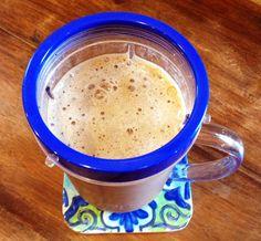 The Skinny Protein Shake! Chocolate, banana, coffee!