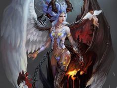Heaven & Hell angel