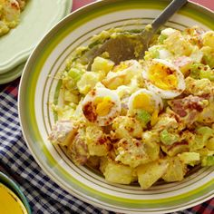 Mustard Potato Salad - change sweet relish to dill pickle