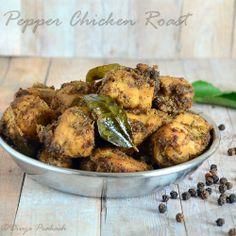 Milagu Chicken Varuval.