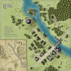 769 best RPG Maps & Grids images on Pinterest   Maps, Cartography ...
