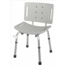Shower Chair with Back EZ-Care - Price ( MSRP: $ 87.96Your Price: $55.79Save up to 37% ). http://www.discountmedicalsupplies.com/store/bath-and-shower-safety/showers-stools-seats/shower-chair-with-back.html