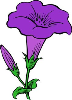 These free flower clip art images are great for any project, any time of year. All the flower clip art is free and legal to use for your projects. Art Drawings For Kids, Art Drawings Sketches, Easy Drawings, Tattoo Sketches, Cute Flower Drawing, Flower Art, Art Flowers, Flower Images, Flower Sketches