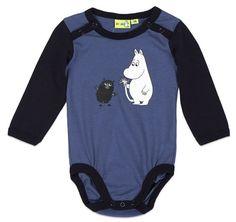 Cute Moomin baby bodysuit