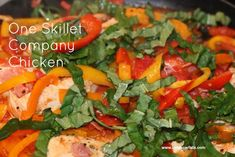 One skillet chicken dish--simple, healthy and delicious! And of course, low FODMAP!
