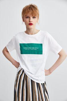 New T Shirt Design, Shirt Print Design, Tee Shirt Designs, T Shirts With Sayings, Shirts For Girls, Cool Shirts, Tee Shirts, Buy T Shirts Online, T-shirt Logo