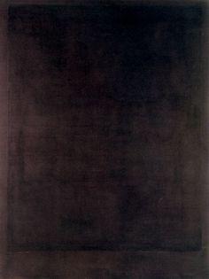 Mark Rothko, Black Painting No. 8