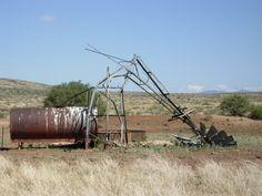 Old windmill by Hillside, AZ