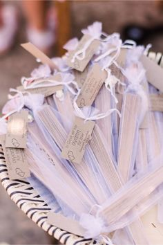 customized wooden fans for wedding ceremony in Crete | Crete for Love