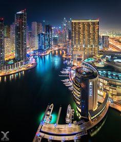 ღღ Dubai Marina by Daniel Cheong