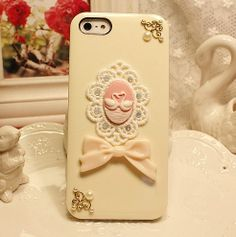Loving swan lace bow white cases galaxy s3 by LandySupplies, $11.00