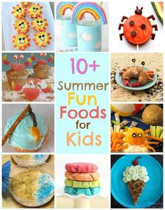 Summer Fun Foods for Kids