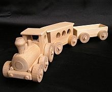 Kinderzuge aus Holz, spielzeug