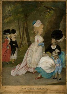 W. Humphrey - 1779  Hand-coloured mezzotint