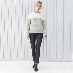 Chunky Loop Stitch Jumper   Christmas 16 Clothing   Seasonal   The White Company UK