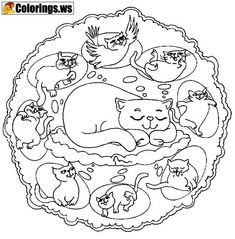 29 Best Mandala Coloring Pages images | Coloring pages, Coloring ...
