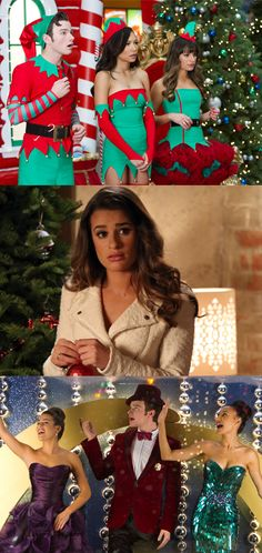 "'Glee's' holiday episode ""Previously Unaired Christmas"""