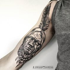 20 Artistic Blackwork Tattoos By Phil Tworavens