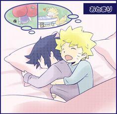 Too cute ❤ #narusasu #sasuke #naruto