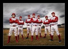 Baseball team photography...I want to do this w/ B's little league team in the Fall. by janice