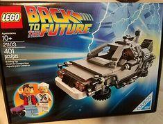 LEGO CUUSOO The DeLorean time machine (21103) Brand New Sealed! Time Travel Machine, The Time Machine, The Future Movie, Back To The Future, Delorean Time Machine, All Lego, Lone Ranger, Lego Architecture, Toys
