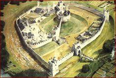 Pickering Castle 14de eeuw