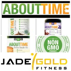 "Www.TryAboutTime.com all natural no GMO products for you and your family with 25% Off Discount Code at check out ""JadeGoldFitness"""