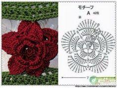 Watch The Video Splendid Crochet a Puff Flower Ideas. Wonderful Crochet a Puff Flower Ideas. Freeform Crochet, Crochet Diagram, Crochet Motif, Crochet Shawl, Crochet Stitches, Knit Crochet, Crochet Puff Flower, Crochet Flower Patterns, Crochet Flowers